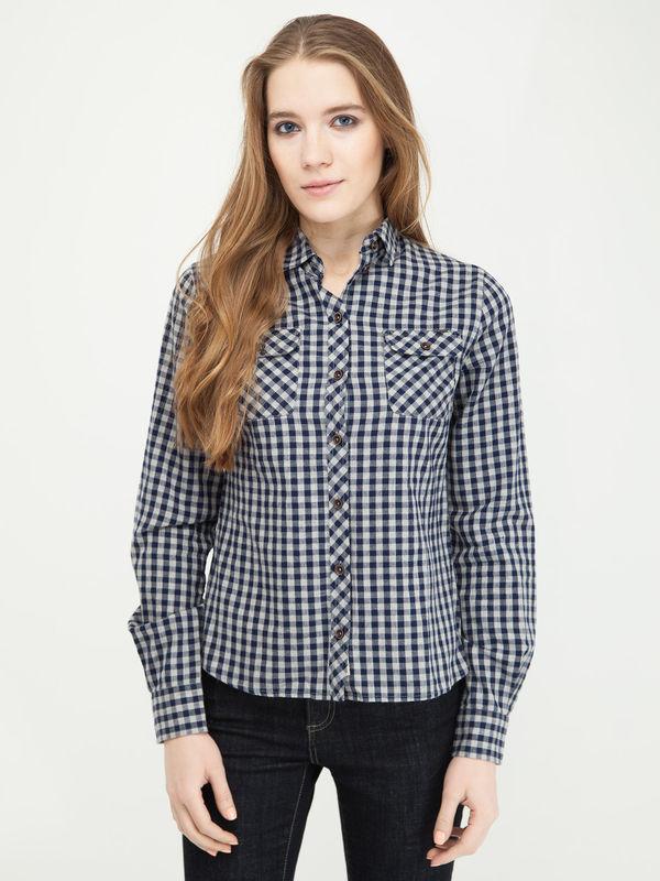 Рубашка женская Lee cooper LCHWW043 синяя XS OF000641399
