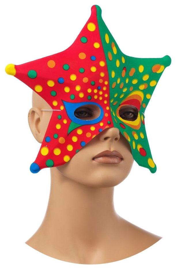 Купить Карнавальная Венецианская Полумаска Snowmen Е3087, Карнавальные головные уборы