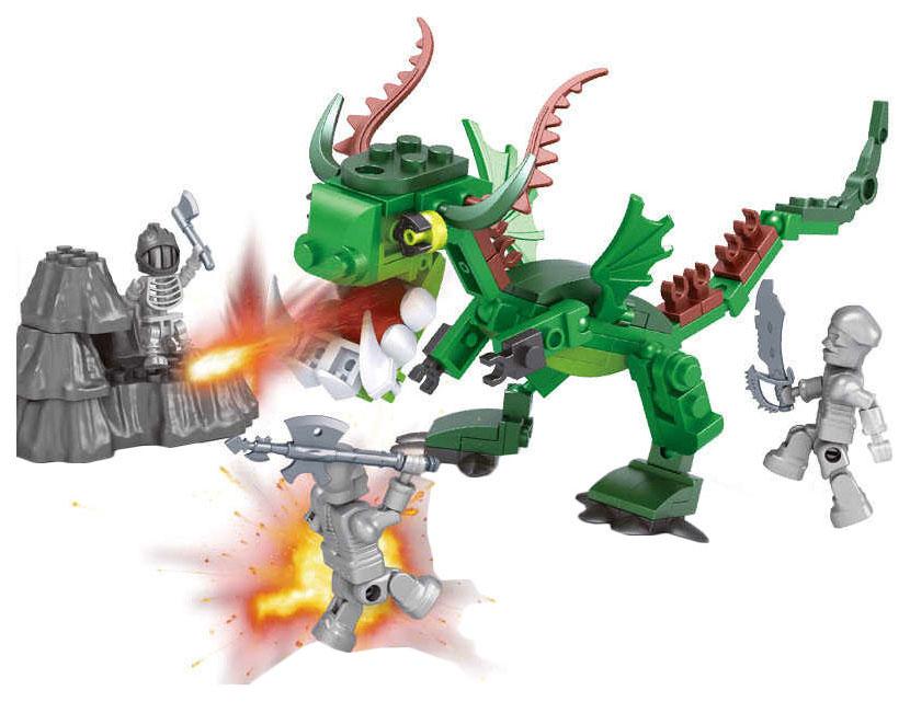 Купить Конструктор пластиковый Ausini Нападение дракона ZY882195, Конструкторы пластмассовые