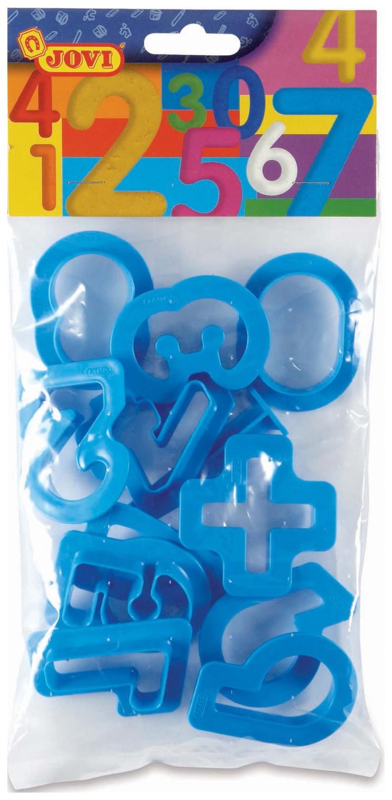JOVI Набор пластиковых формочек для лепки (12 форм) 7N