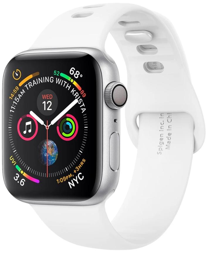 Ремешок Spigen Air Fit для Apple Watch Series 2/3/4/5 42/44 mm White