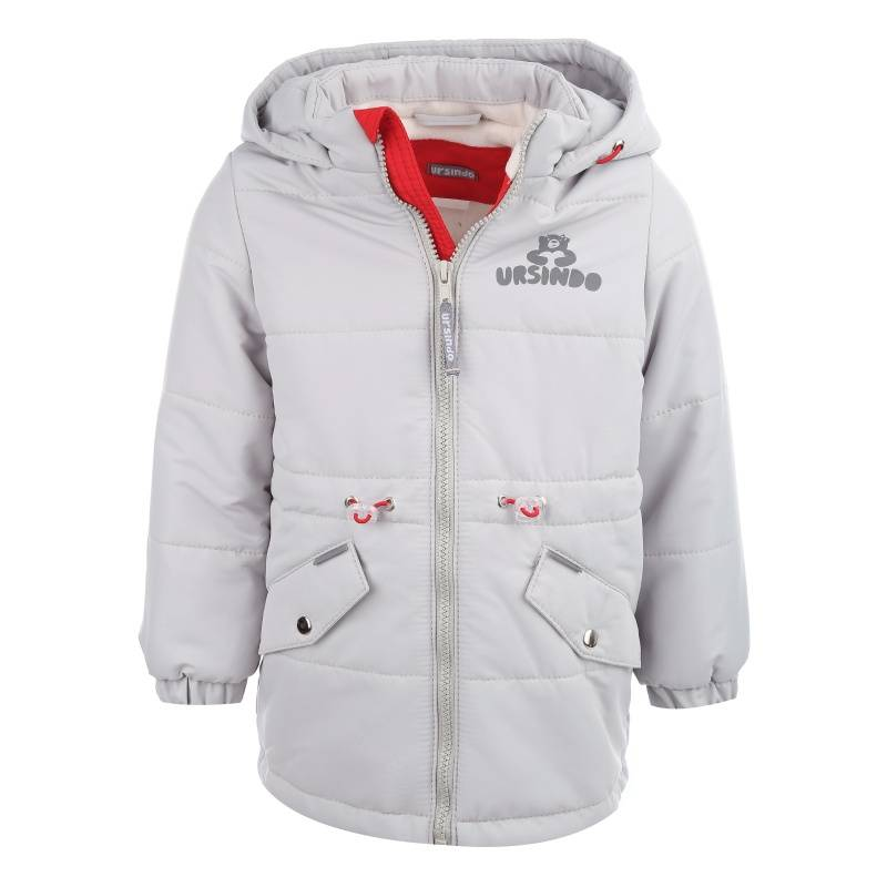 Купить Дд-0414, Куртка Мышка URSINDO, цв. серый, 104 р-р, Куртки для девочек