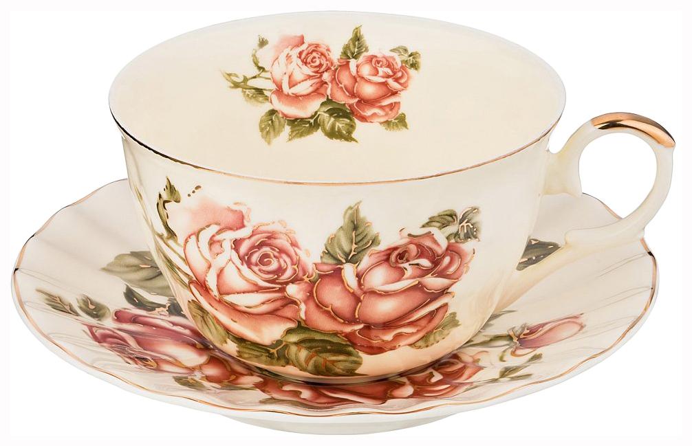 Чайный сервиз Lefard Корейская Роза 69-2220 2 персоны