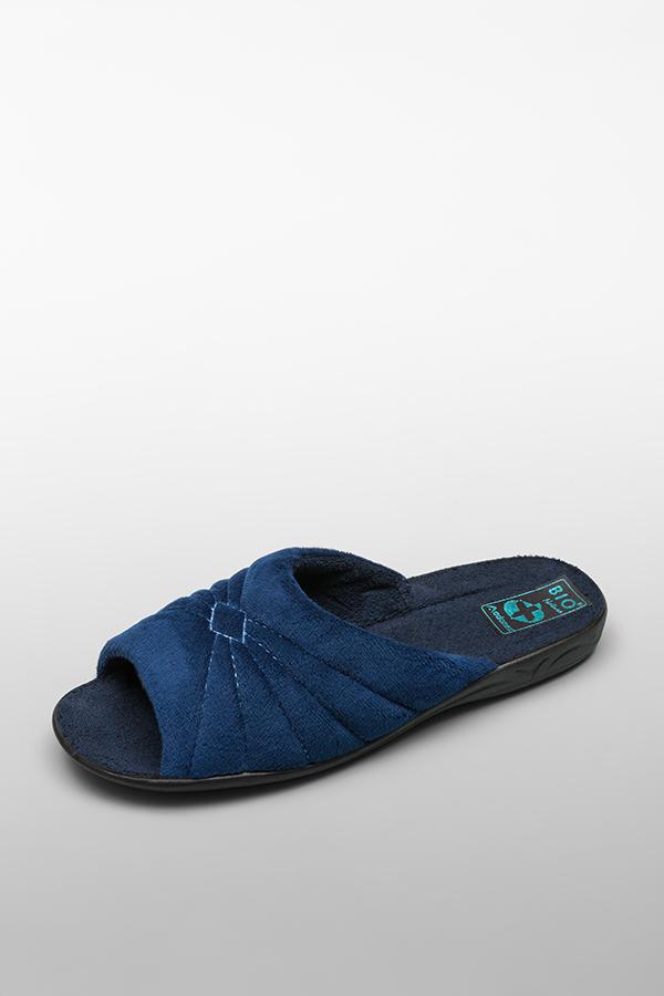 Домашние тапочки женские Anex 15061 синие 36 RU