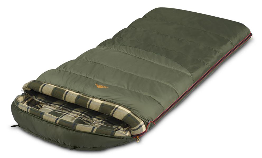Спальный мешок-одеяло Alexika Tundra Plus XL 9267-01072-oliva-left