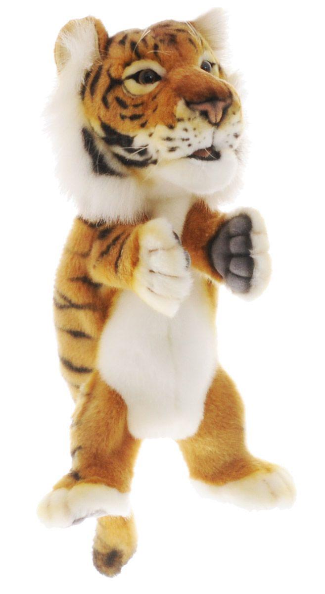 Купить Мягкая игрушка на руку Тигр , 24 см, Hansa, Мягкие игрушки животные