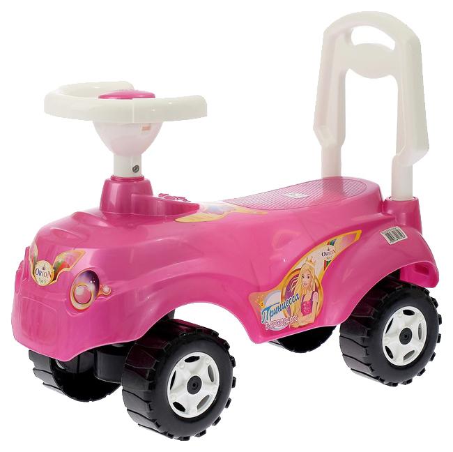 Каталка детская Orion Машинка Микрокар Цвет: Розовый
