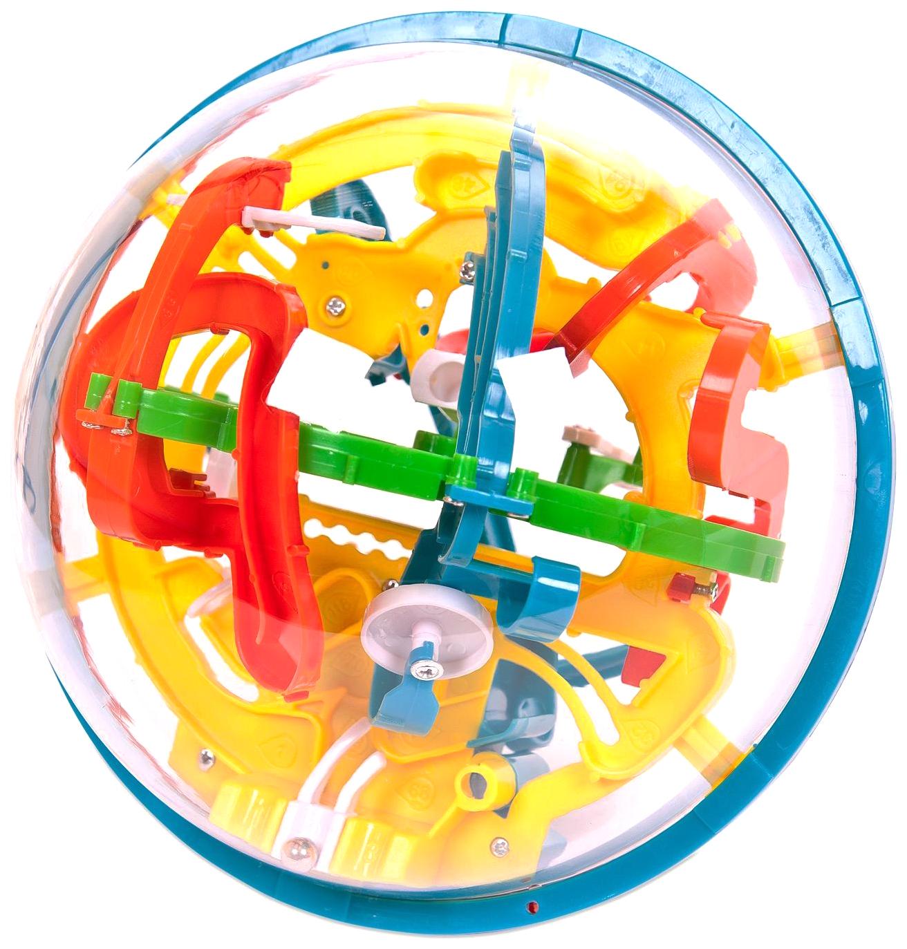 Купить Интеллектуальный шар 3D Abtoys 118 барьеров диаметр лабиринта 16 см, Игрушки головоломки