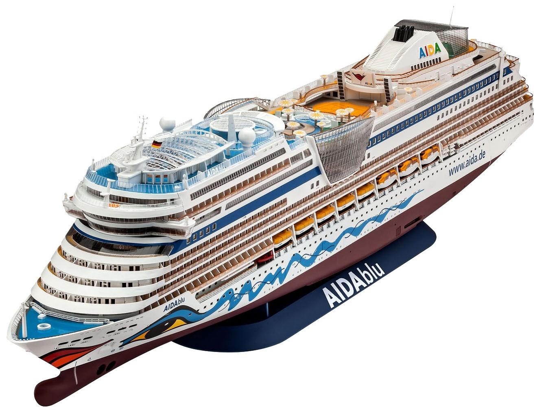 Сборная модель корабля AIDAblu, 1:400 Revell фото