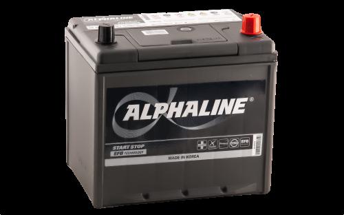 Аккумулятор ALPHALINE EFB 90D23 EFB PR 12В 65Ач 670CCA 230x172x220 мм Обратная (-+) фото