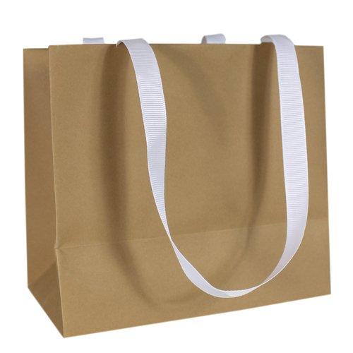 Пакет подарочный, 16 х 14 х 9 см, серый