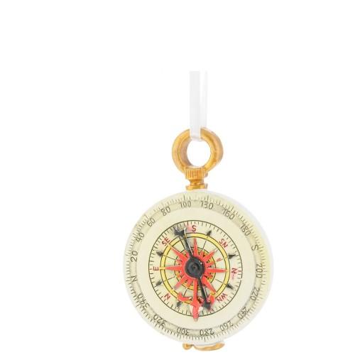 Елочная игрушка Феникс Present компас, 5x1x7 см