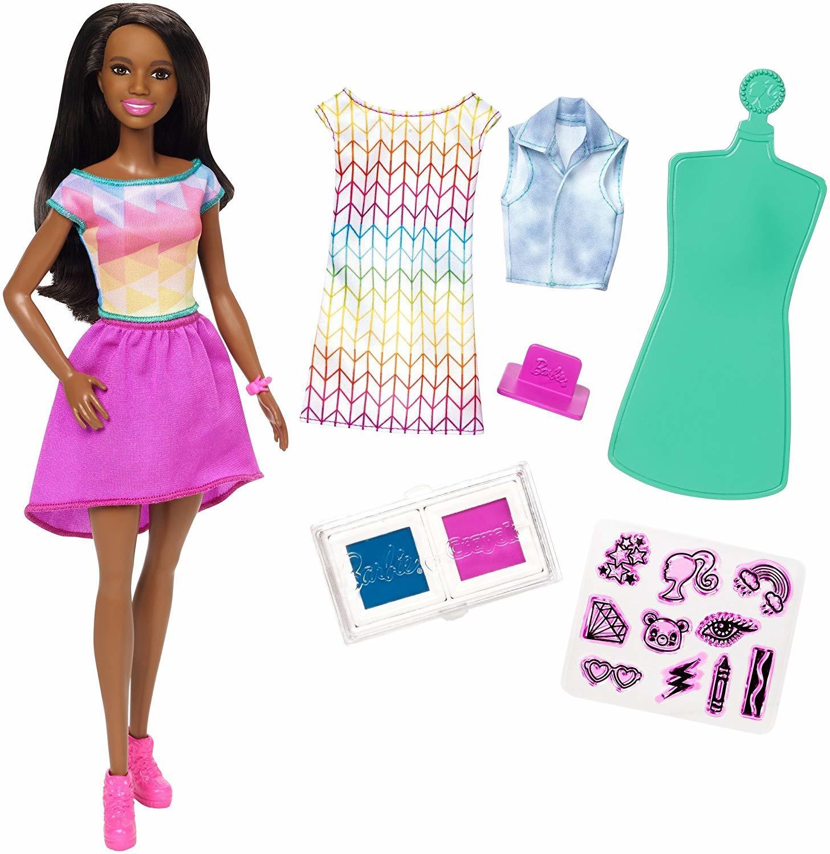 купить куклу барби с косметикой