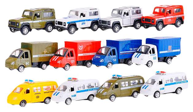 Купить Игровой набор Playsmart Автопарк 6443, Наборы игрушечного транспорта