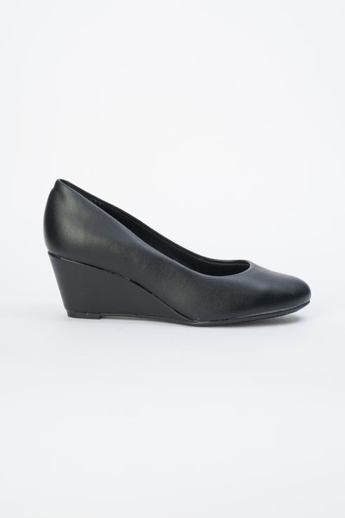 Туфли женские Beira Rio 646-01-BBR-01-PT черные 38 RU фото