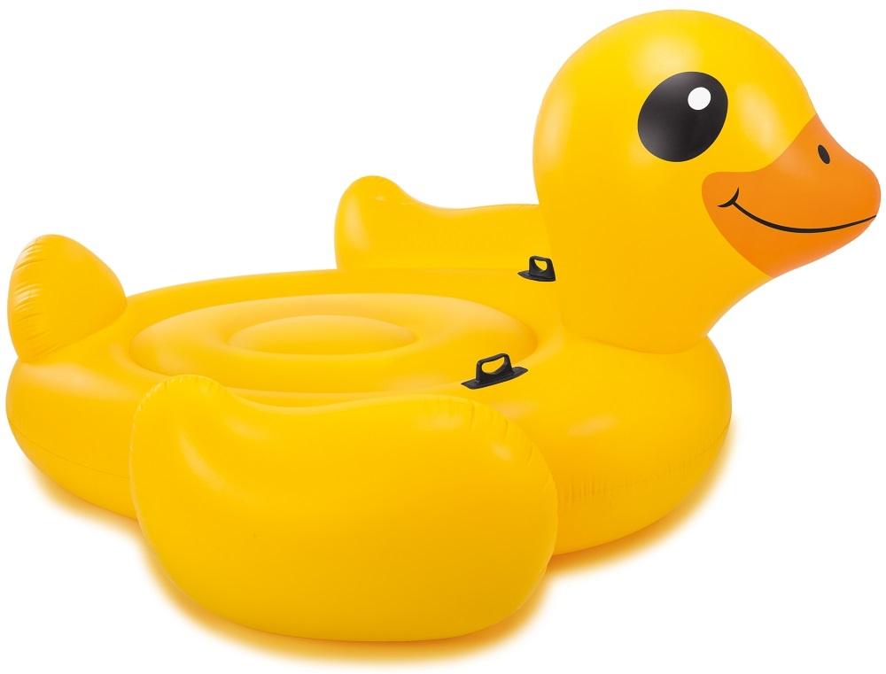 Надувной плотик INTEX Большая желтая утка