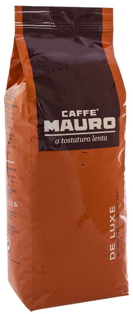 Кофе в зернах Mauro De Luxe 1000 г