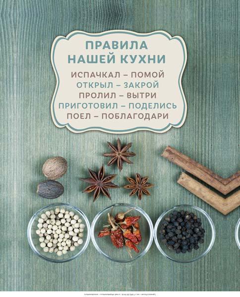Картина на мдф 30x40 Правила Кухни 2 Ekoramka ME-105-251