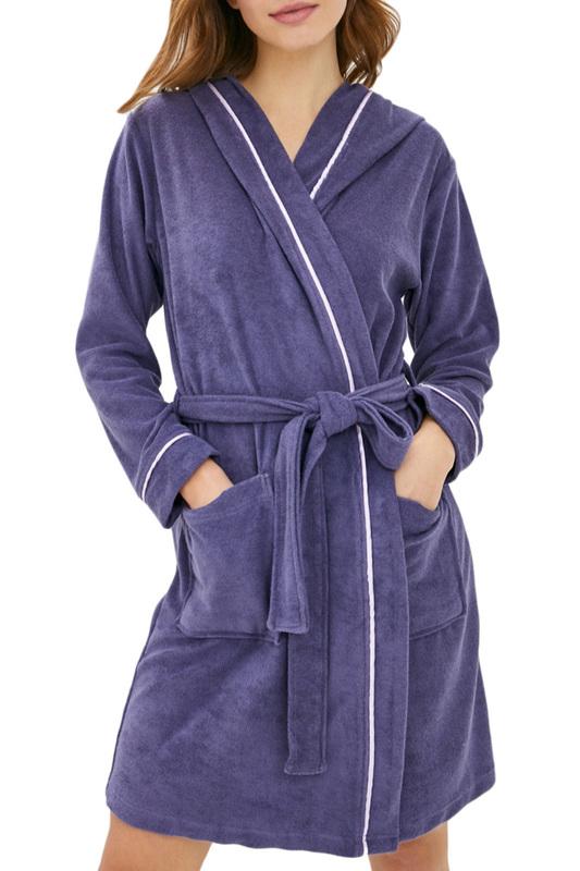 Халат домашний женский Luisa Moretti 6079 фиолетовый S
