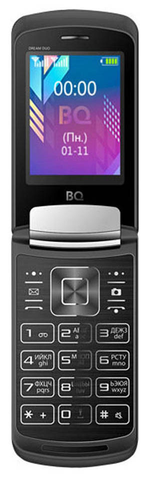 Мобильный телефон BQ 2433 Dream Duo Black