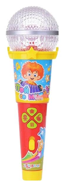 Купить Интерактивная игрушка Азбукварик Микрофон Пой со мной! Песенки в Шаинского 28161-2, Интерактивные мягкие игрушки