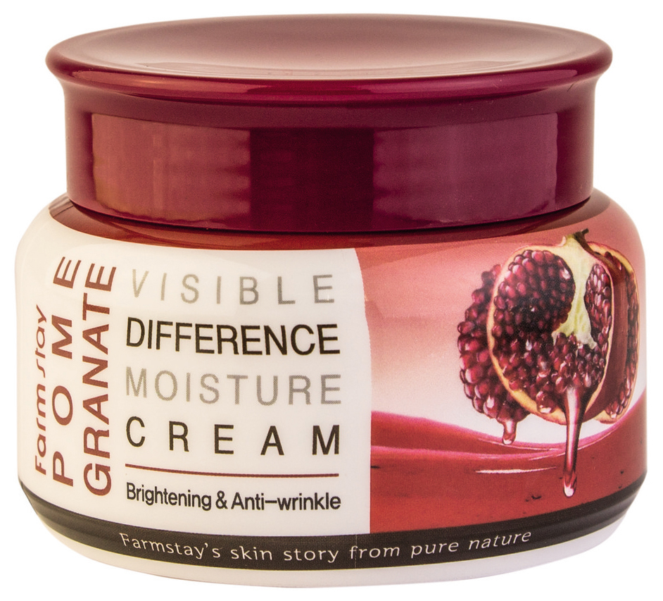 Крем для лица FarmStay PomeGranate Visible Difference Moisture Cream 100 мл фото
