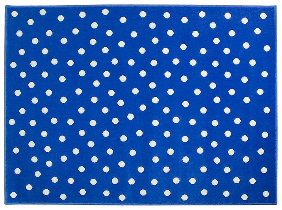 Ковер Lorena Canals акриловый Горошек Dots Blue голубой