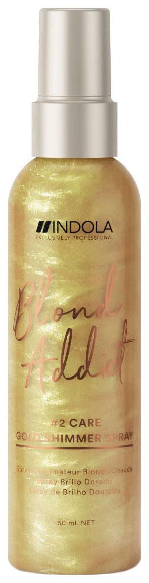 Спрей для волос Indola Professional Blond Addict Gold Shimmer 150 мл