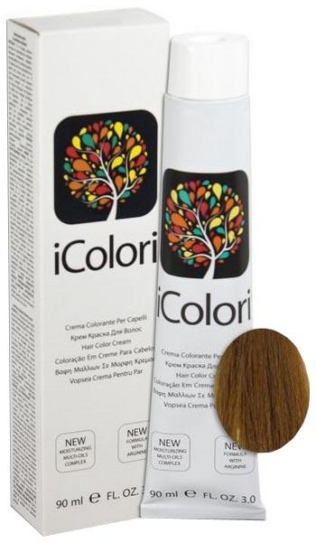 Краска для волос KayPro iColori 7/23 табачный блондин 90 мл