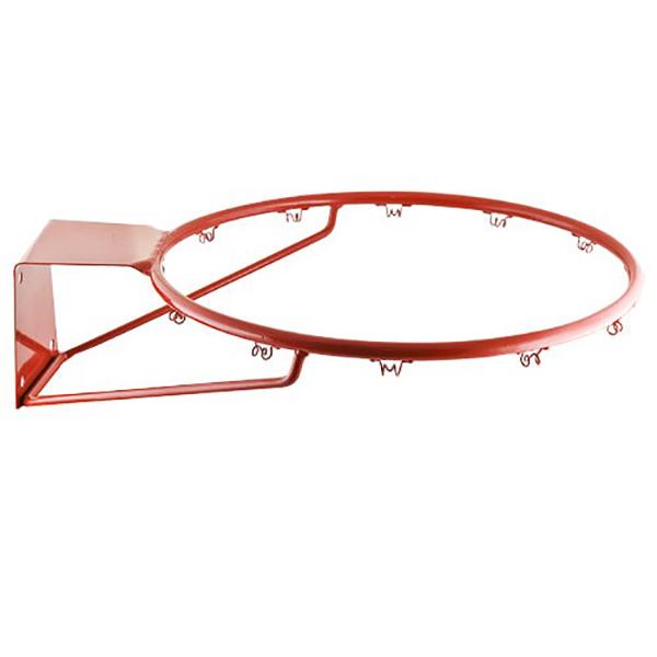 Кольцо баскетбольное метал №7(труба)облегченное б/сетки диам.450мм (арт 246)