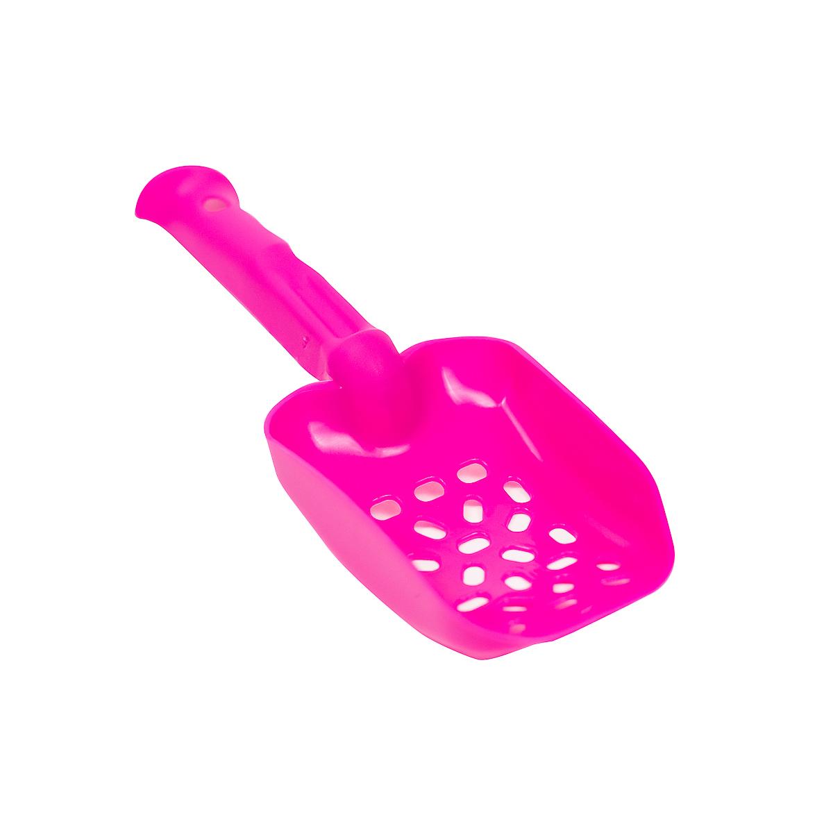 Совок Киспис из антибактериального ЭКОпластика 26см (розовый)