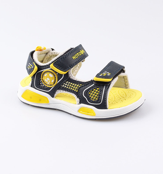 Купить Пляжная обувь Котофей для мальчика р.27 324020-11 синий, Шлепанцы и сланцы детские