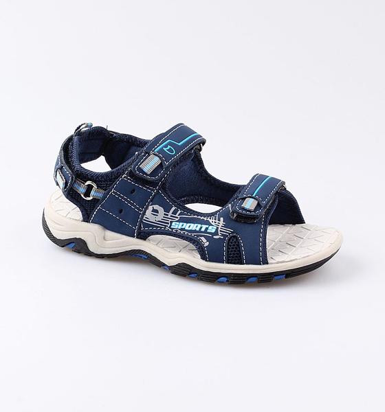 Купить Пляжная обувь Котофей для мальчика р.33 524042-11 синий, Шлепанцы и сланцы детские