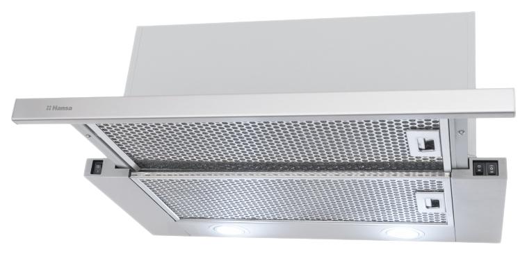 Вытяжка встраиваемая Hansa OTP 6241 IH Silver