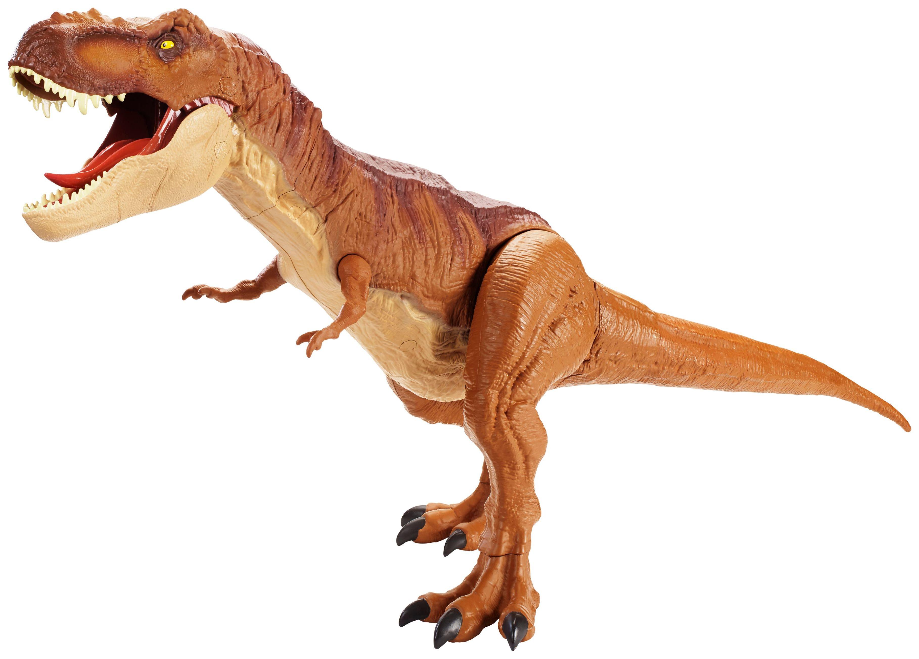 Купить Фигурка динозавра Mattel Jurassic World FMM63 Колоссальный тиранозавр Рекс,