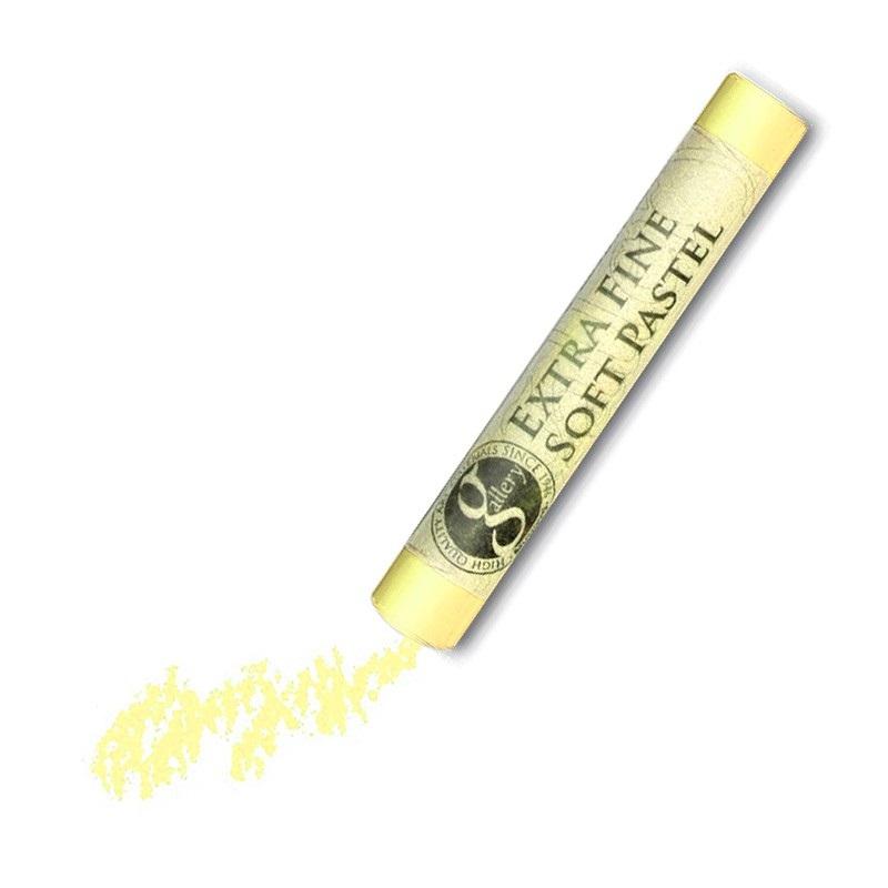 Пастель сухая мягкая круглая Mungyo GALLERY Extra Fine Soft, 107 Желтый цинк
