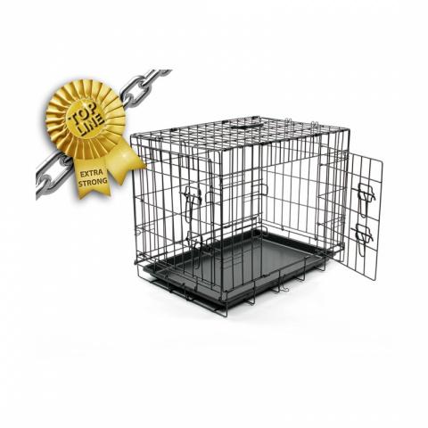 Клетка для собак Duvo+ 71x77x107см, количество дверей 2