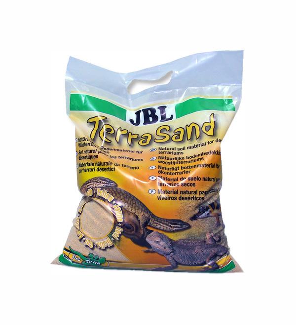 Натуральный песок для террариумов JBL TerraSand natur