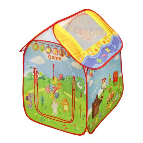 Купить Палатка игровая НАША ИГРУШКА Учимся считать 889-181B, Наша игрушка, Игровые палатки
