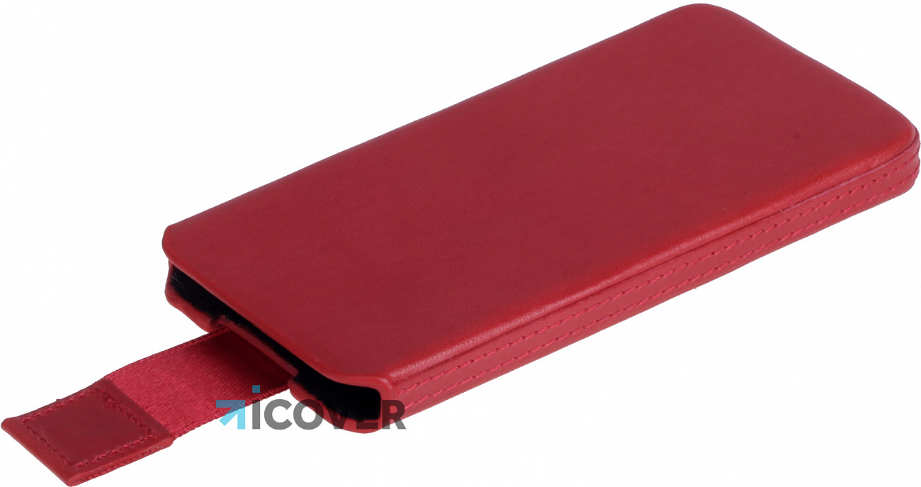 Чехол-карман Heddy Ultraslim Hard (HD-S-A-5SE-11-09) для iPhone 5/5S/SE (Red)
