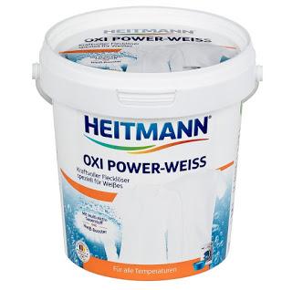 Пятновыводитель Heitmann oxi power weiss для белых