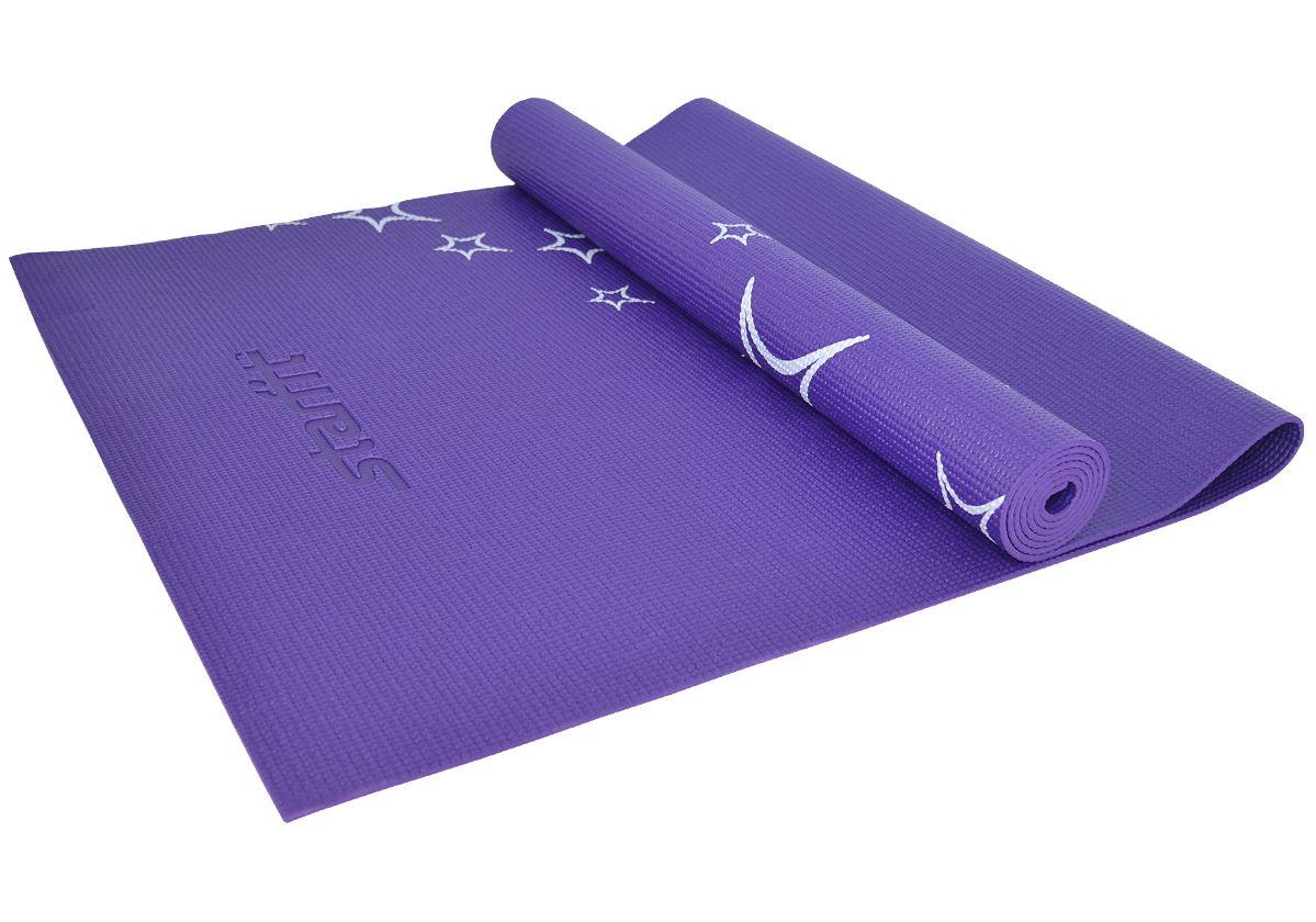 Коврик для йоги FM 102, PVC, 173x61x0,6