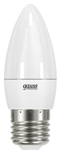 Лампочка Gauss Elementary 6W E27 4100K фото