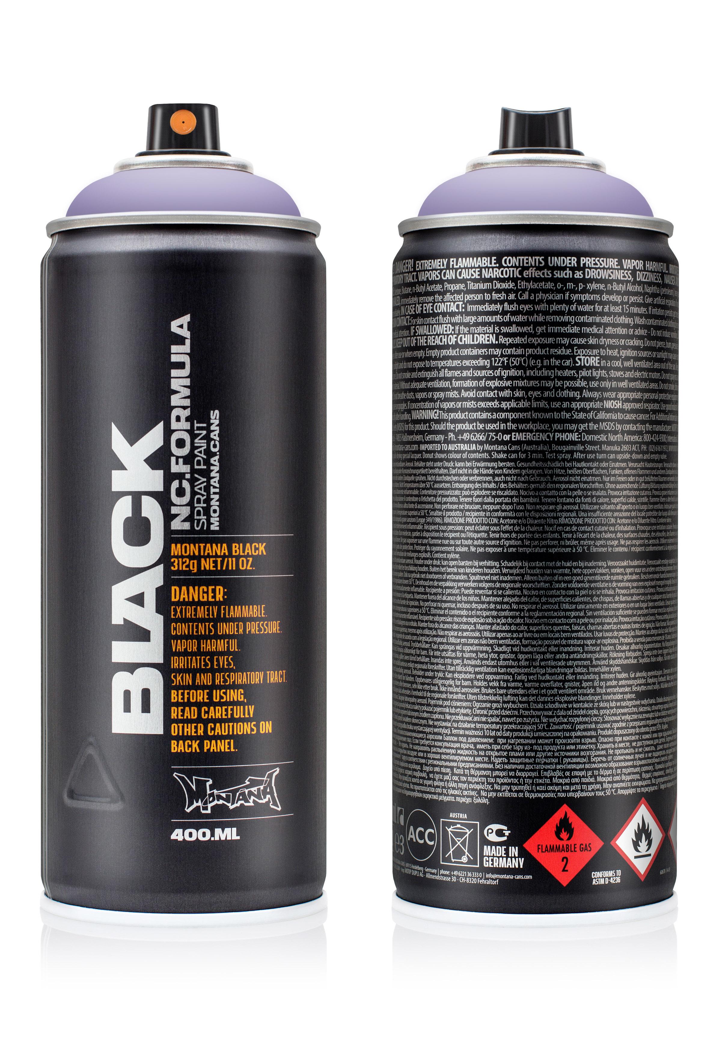 Аэрозольная краска Montana Black Blue Velvet 400 мл