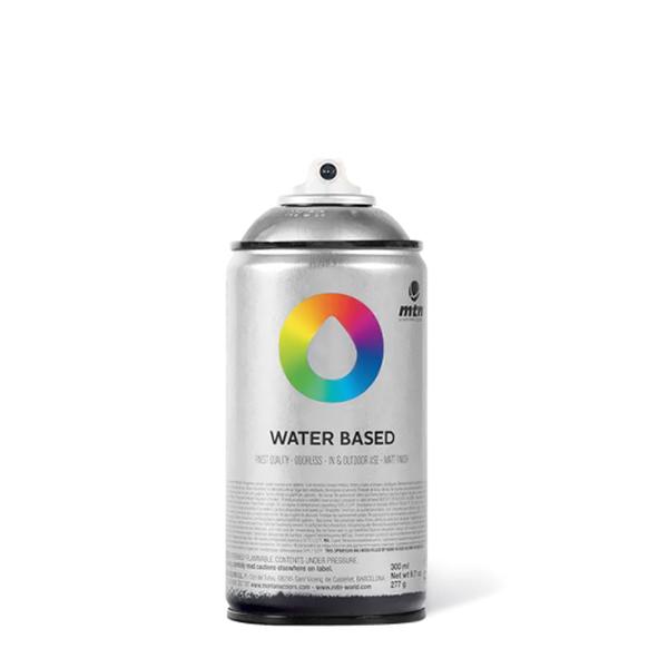 Аэрозольная краска Mtn Water Based серебристый металлик 300 мл