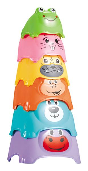 Развивающая игрушка Наша Игрушка Пирамидка детская 618-22 в ассортименте фото