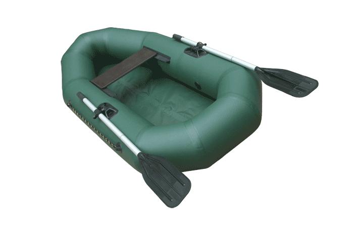 Лодка для рыбалки Leader Компакт-200 зеленая