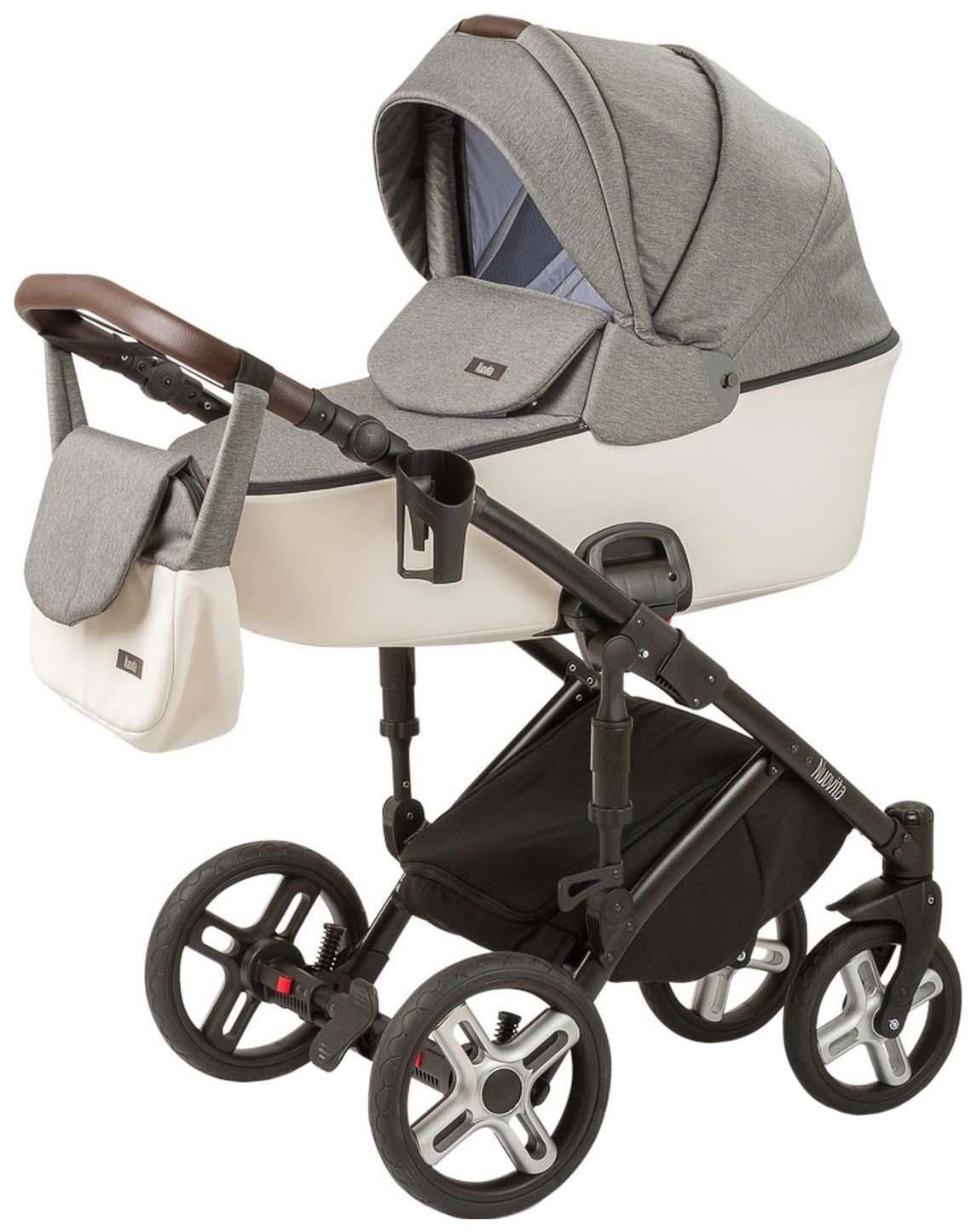 Купить Коляска Nuovita Carro Sport 2 в 1 серый, белый, Детские коляски 2 в 1