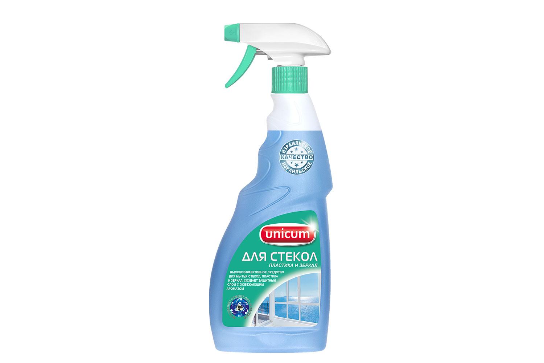Чистящее средство для стекол и зеркал Unicum