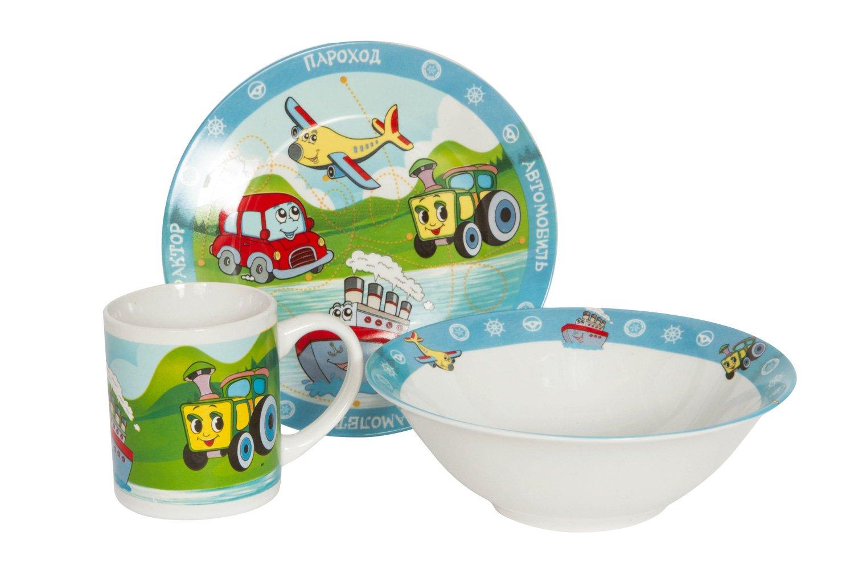 Набор посуды Hoff Транспорт